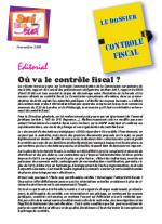 Le dossier Contrôle Fiscal N°1