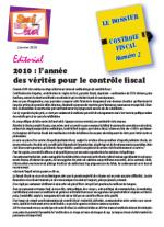 Le dossier Contrôle Fiscal N°2