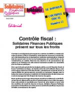 Le dossier Contrôle Fiscal N°11