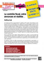 Le dossier Contrôle Fiscal N°14