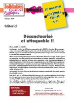 Le dossier Contrôle Fiscal N°27