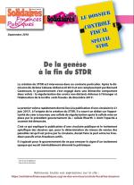Le dossier du Contrôle Fiscal - Spécial STDR