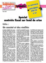 Le dossier du Contrôle Fiscal N°40