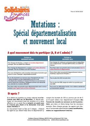 Calendrier Mutation Dgfip 2021 Enfin le calendrier des mouvements de mutation est connu